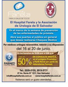 HOSPITAL FARELA 3x65alx