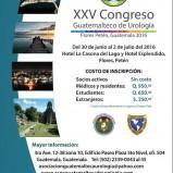 XXV Congreso Guatemalteco de Urologia
